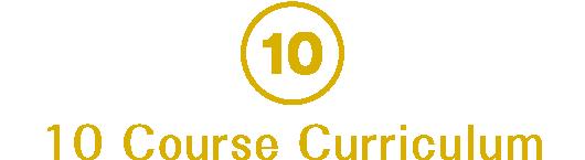 10 Course Curriculum